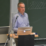 Goeran Kauermann during his lecture